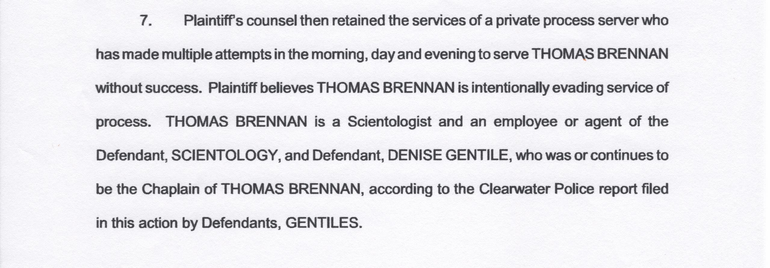 Evading the server, Tom Brennan 001