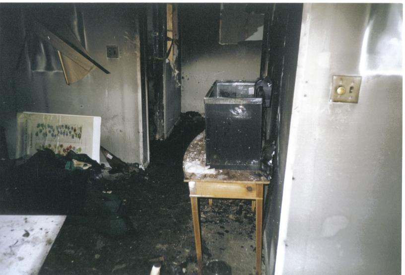 Tom Brennan's Office Fire at Ivy Gardens