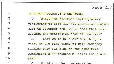 Kyle Brennan, Scientology, School Work 001