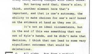 Dr. Stephen McNamara, Scientology Handling of Kyle Brennan 002