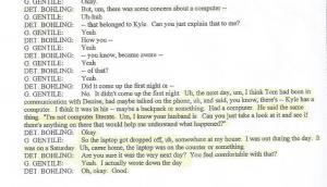 Detective Steve Bohling interview with Gerald Gentile, PG.45 001
