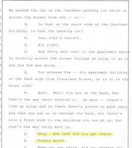 Denise Miscavige Gentile, Pajama Party,Death of Kyle Brennan, 001