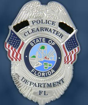 Clearwater Police Badge