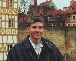 Kyle Brennan Visiting Bamberg, Germany