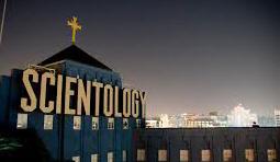 The Big Blue Scientology Building