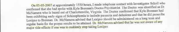 CWP Report, McNamara Contact Lies, Bohling 001