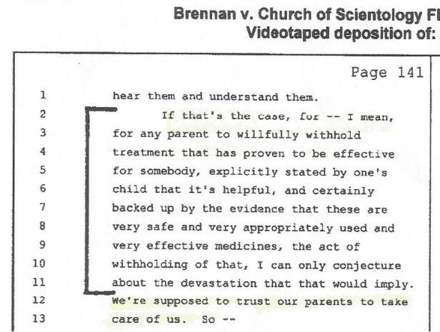 Dr. Stephen McNamara, Medication, Markus, 001