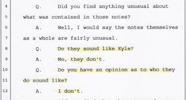 Notes. Kyle's Smear Campaign 001