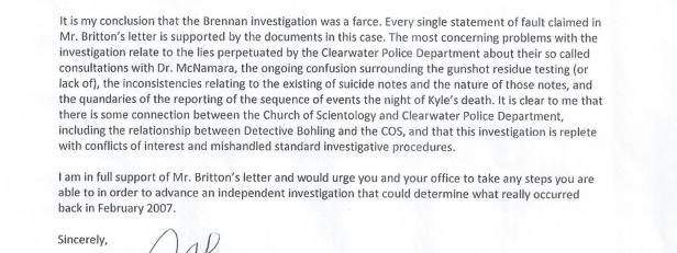 DOJ Investigation Letter 001