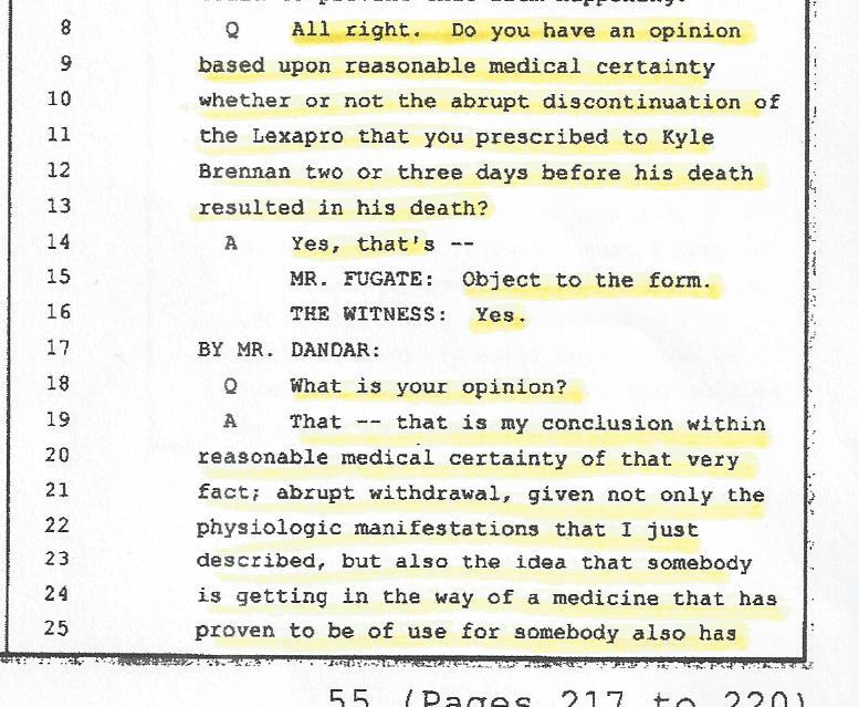 Dr. Stephen McNamara, Cause of death, 002
