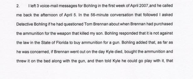 Steven Bohling, Weapon Statement 001