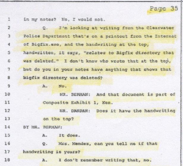 Agent B. Mendez, Computer Info 001