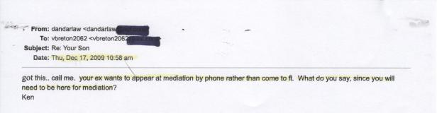 Ken Dandar, Mediation Info 001
