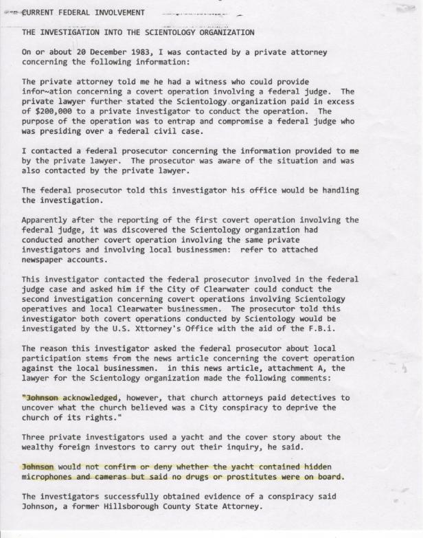 The Emmons Report, Paul Johnson, Krentzman 001