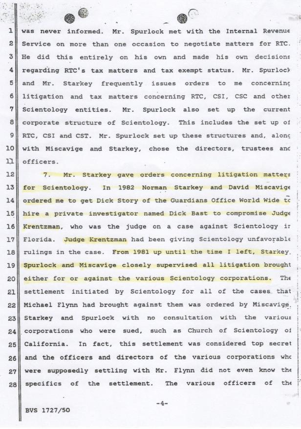 Vicki Aznaran, Kretzman, Declaration 001