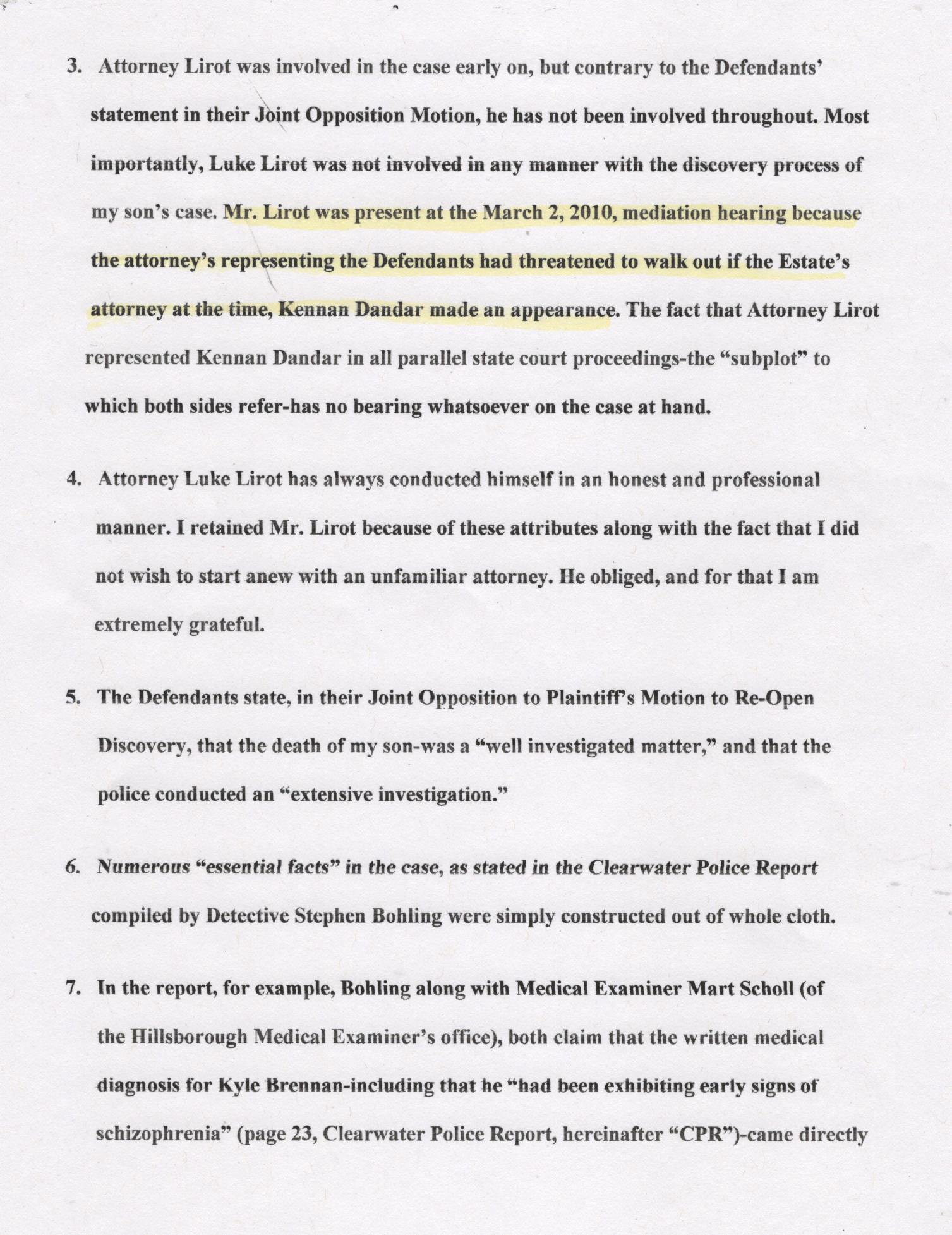 Page two, Britton Affidavit 001