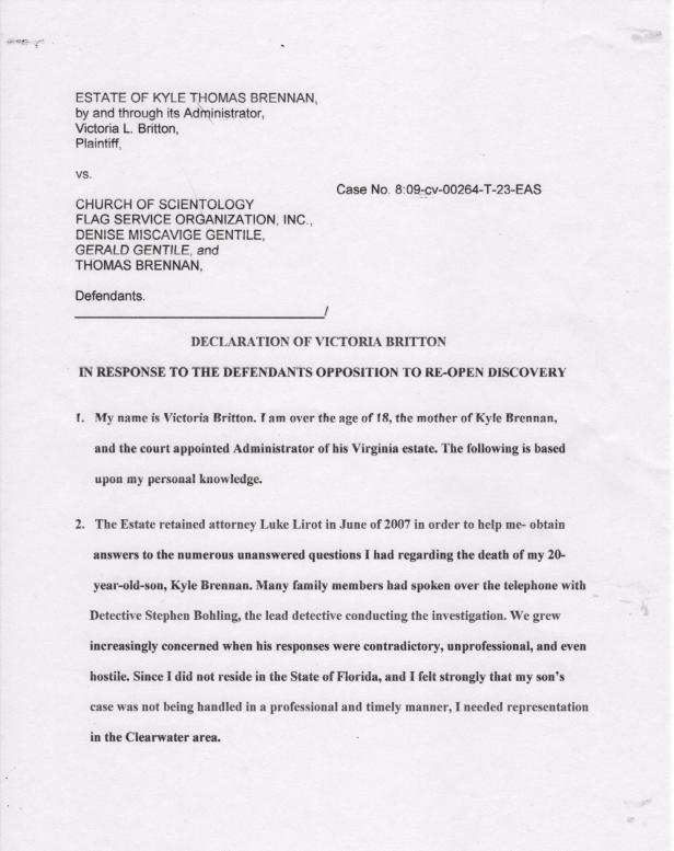 Victoria Britton Declaration page 1 001