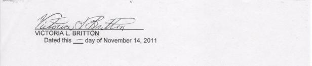 Britton Affidavit, Page five 001