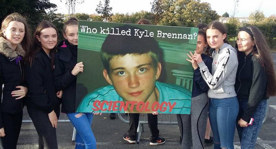 Dublin Protest, Kyle Brennan Image