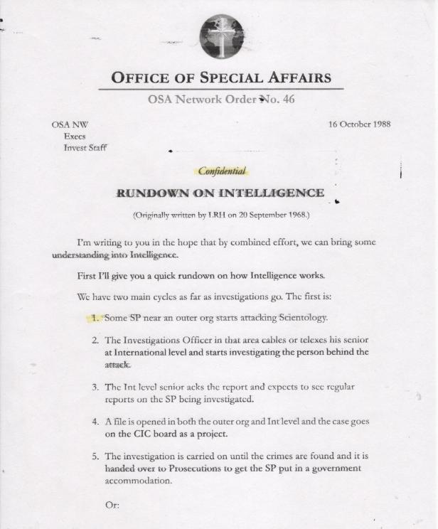 Rundown on Intelligence 001