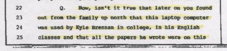 Bohling Depo, Kyle's Writing 001